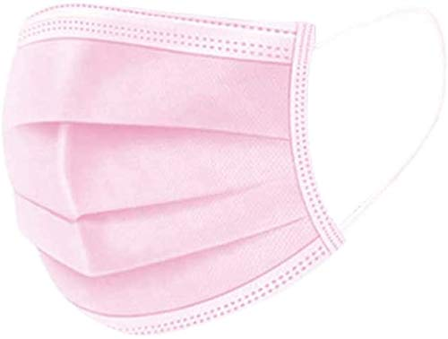 Se Envía desde España Protección Facial Higiénica Rosa