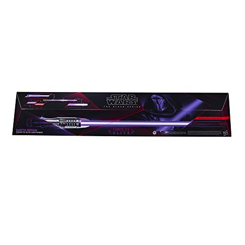 Star Wars The Black Series Darth Revan Force FX Elite Lightsaber with Advanced LED and Sound Effects, Adult Collectible Roleplay Item