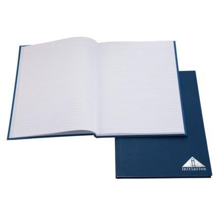 Iniziativa Msct a libro A4 A righe colore blu