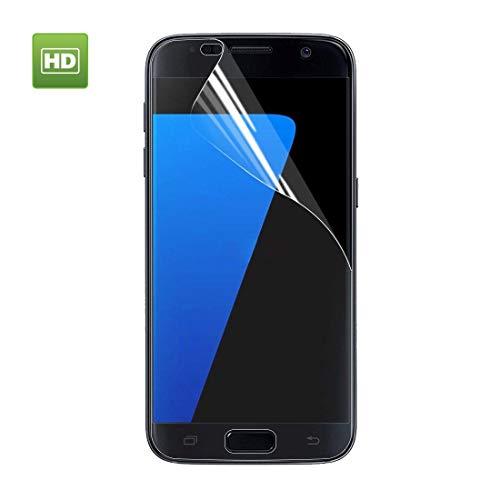 GGAOXINGGAO Protectores de Pantalla de teléfono móvil For Samsung Galaxy S7 Edge TPU HD Protector de Pantalla Completo