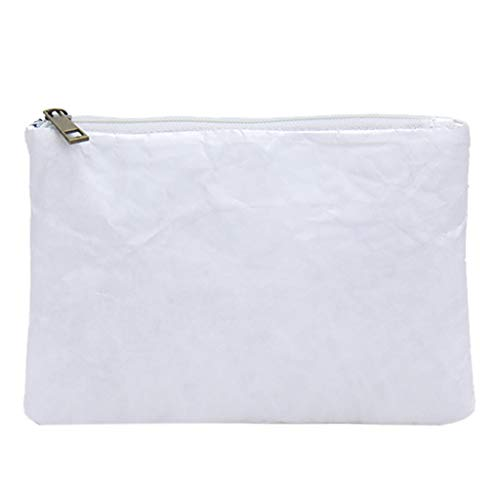 Radorock Women's Fashion Waterproof Mobile Phone Bag Clutch Bag Wallet Cosmetic Bag (White)