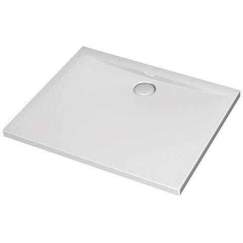 Ideal Standard Ultra Flat Rechteck-Brausewanne 900x700mm, bodeneben K1988, Farbe: Weiß