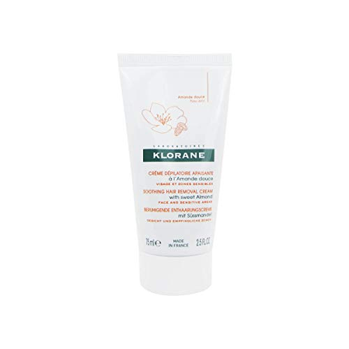 Klorane Soothing Hair Removal Cream With Sweet Almond 75ml
