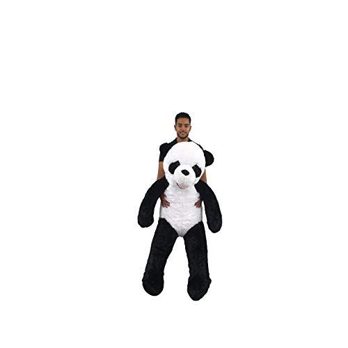 Bananair Peluche Géante Panda 160cm, Doudou Ultra Moelleux,