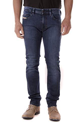 Diesel Thavar R814V Pantalones Vaqueros Hombre Slim Skinny (34W / 32L, Azul)