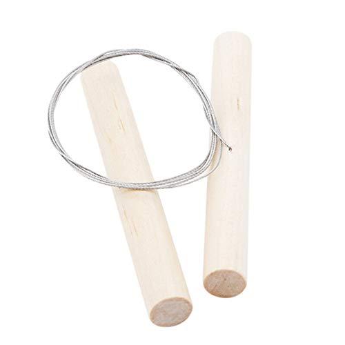 DXFFOK Respetuoso del Medio Ambiente Queso Herramientas Cortador de Cocina de Alambre de Acero + manija de Madera Jabón Cortador de Queso Herramienta de Corte de Madera del Cuchillo de la fabricación