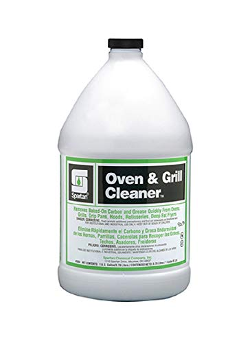 Spartan Oven and Grill Cleaner, 4-1 gal/cs
