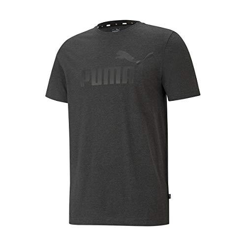 PUMA Herren T-Shirt ESS Heather Tee, Dark Gray Heather, XXL, 586736