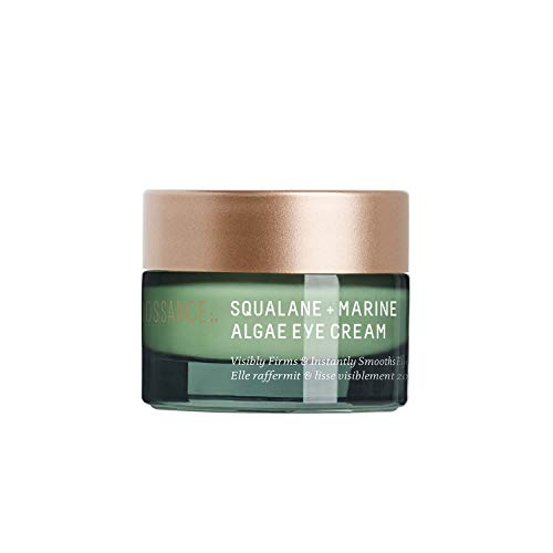 Biossance Squalane + Marine Algae Eye Cream - Lifting Eye Treatment for Fine Lines + Wrinkles - No Parabens or Synthetic Fragrance (15ml)