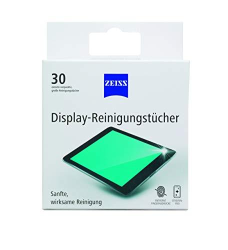 ZEISS Display-Reinigungstücher 30 Stk. alkohol-und ammoniakfrei, Reinigung für Tablets