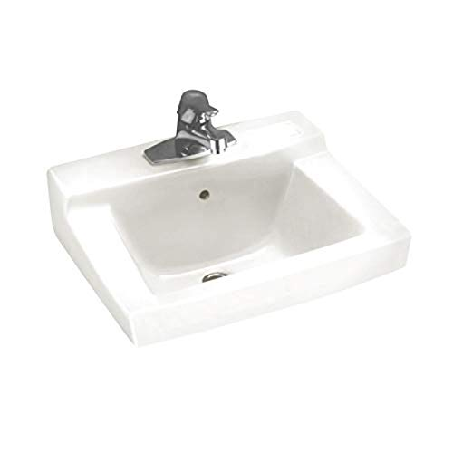 American Standard 0321075.020 Declyn Wall-Mounted Lavatory Sink, White