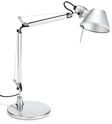 Artemide Tolomeo Micro Lampada 46 W, Alluminio