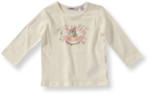 MEXX Baby - Mädchen Sweatshirt K1AZT002, Gr. 62, Weiß (112)