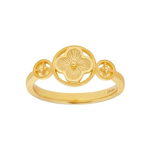 PRIMAGOLD(プリマゴールド) 純金 レディース リング 個性的なモチーフ 指輪 K24 24金ジュエリー (11)