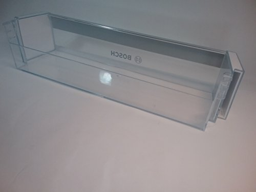 Compartimiento de almacenamiento de electrodomésticos Siemens de Bosch 11004945 Botellero original de 472x100mm para puerta de refrigerador