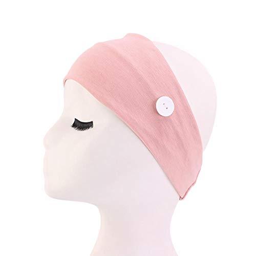 Brinube Effen Kleur Elastische Anti Knop Haarband voor Dagelijkse Yoga Praktijk Versier haar Geschikt als geschenk aan een vriend Eenvoudig en Glad om te dragen Haarbanden niet breken of gemakkelijk verlengd C 24 x 9,5 cm.