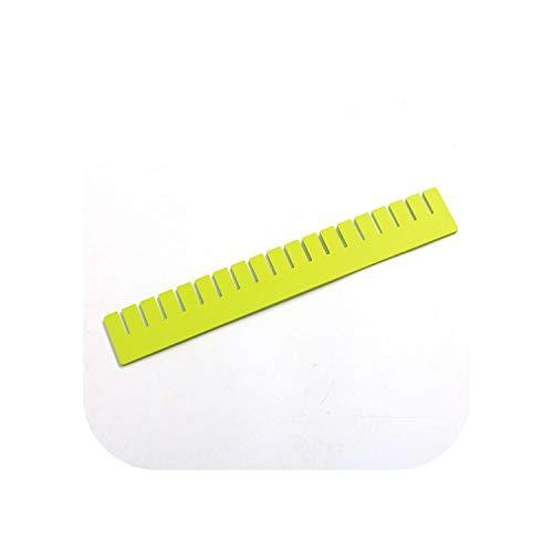 Schminktasche |Grüner HX Organizer für Schubladen DIY Socken Unterwäsche für Schubladen Verstellbare Trennwand Aufbewahrung Trennwand Make-up Organizer Aufbewahrung-6 Organizer 8pc-