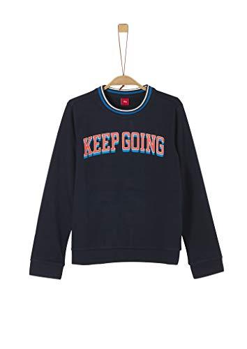 s.Oliver Jungen 62.911.41.2716 Sweatshirt, Blau (Dark Blue 5952), 176 (Herstellergröße: XL/REG)
