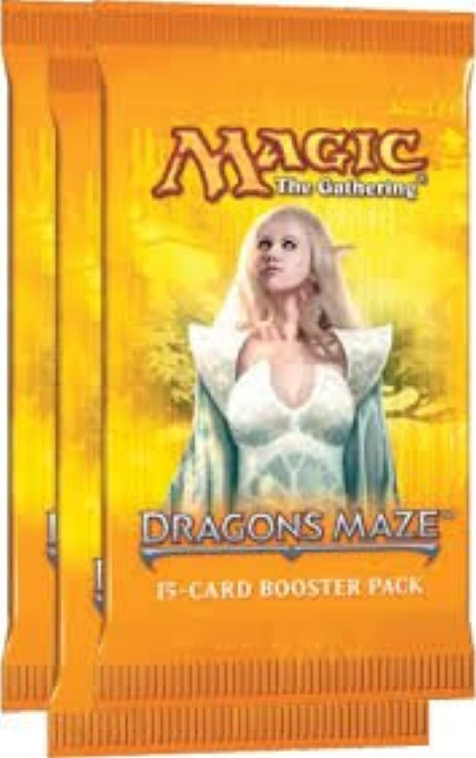 3 x MAGIC THE GATHERING DRAGONS MAZE BOOSTERS