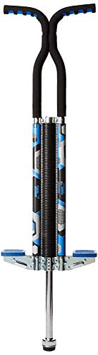 Think Gizmos Pogo Stick for Riders 80lbs to 160lbs - Pogo Stick for Boys & Girls (& Light Adults) - Quality Solid Construction (Blue)