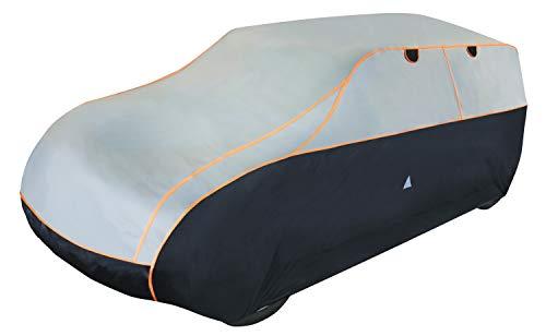 Walser Auto Hagelschutzplane Perma Protect SUV wasserdichte atmungsaktive Hagelschutzgarage für optimalen Hagelschutz, Größe: S 30983