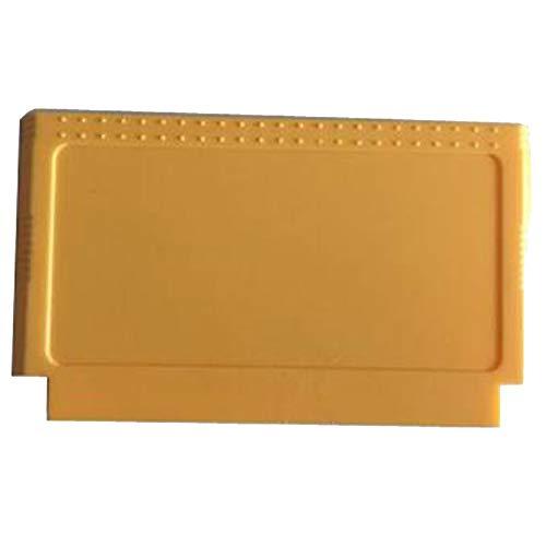 WULE 10pcs Fit for NES FC Reemplazo del Juego Cartucho de Juego Tarjeta de Juego Cáscara de Juego de 8 bits Amarillo/Azul (Color : Yellow)