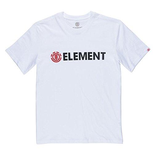 Element Herren Blazin SS Shirts & Hemden, Optic White, L