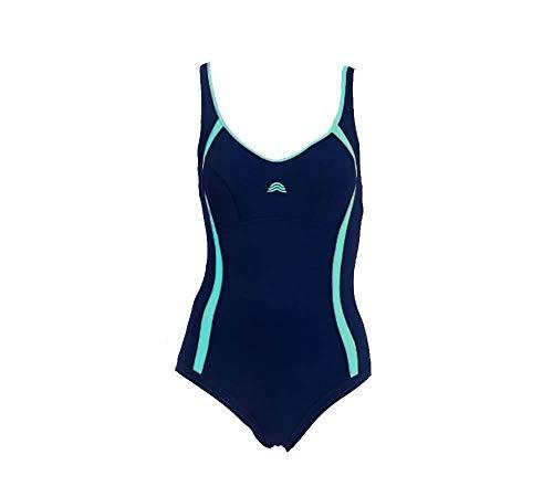 Aquarapid Costume Intero Nuoto Donna Awen Blu 48