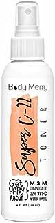 Body Merry Super C-22 Toner for Face & Neck w/Vitamin C + Organic Aloe + Tea Tree Oil to Clean Pores, Remove Oil & Dirt to Clear Skin & Combat Acne
