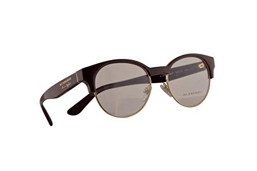 BURBERRY B2261 Brille 50-17-140 Bordeaux Gold Mit Demonstrationsgläsern 3687 BE BE2261 B2261