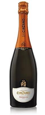 Cinzano Prosecco D.O.C. 75cl, 11% - Italian Dry Sparkling Wine