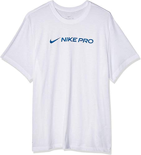 Nike M NK Dry Tee Pro T-Shirt Homme, Deep Royal Blue, FR : S (Taille Fabricant : S)