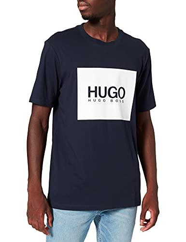HUGO Dolive214 Camiseta, Dark Blue 405, XL para Hombre