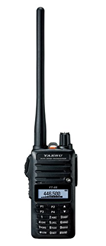 Yaesu Original FT-65 FT-65R 144/440 Dual-Band Rugged & Compact Handheld...