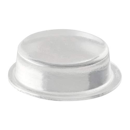 LouMaxx Gummipuffer   12er Set transparent Ø 20mm   Gummifüsse selbstklebend mit extra starkem Halt   Premium Elastikpuffer verhindern Rutschen und Kratzer, Anschlaglärm und Vibrationen