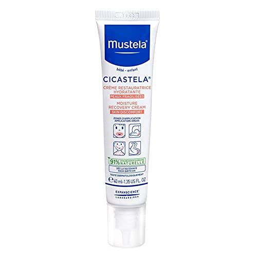 Cicastela Creme Reparador Hidratante Mustela, 40 ml, Mustela, 40 ml
