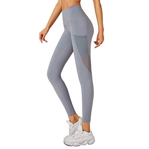RaMokey Sporthose Damen Yogahose Fitnesshose Laufhose Yoga Tights Sport Leggings für Damen mit Taschen