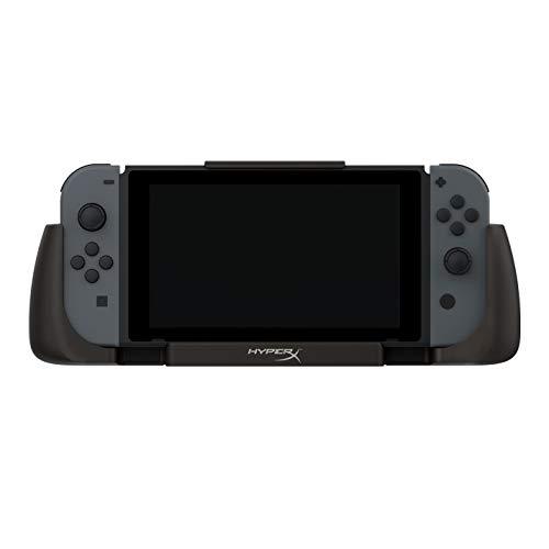 HyperX ChargePlay Clutch, Estación de Carga - Funda con Batería para Nintendo Switch - Batería de 6000mAh, Agarres texturados...