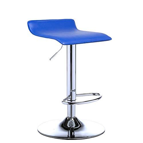 Draaistoel, geschikt voor kassa/receptie/juwelier/toonbank, verstelbare stoel met hoge poten.