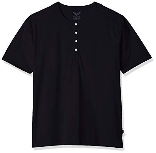 Trigema Herren 637204 T-Shirt, Blau (Navy 046), XXXX-Large (Herstellergröße: 4XL)