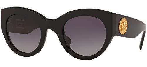 Occhiali da Sole Versace TRIBUTE COLLECTION VE 4353 BLACK/GREY SHADED 51/26/140 donna