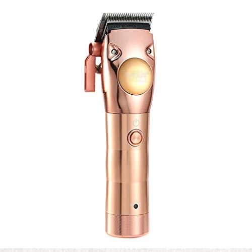 Cortapelos 100-240 V para hombres, kit corte pelo,recargable por USB,kit de recortadores para el cuidado del cabello,juego de peluqueros para niños,uso en el hogar (todo motor de metal resistente)