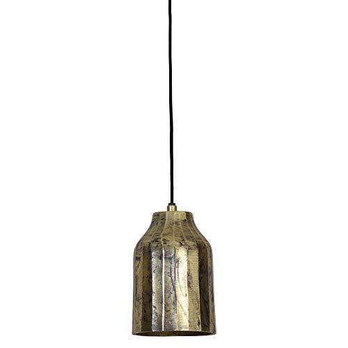 Light & Living Cheyda - Lámpara colgante con casquillo E27 (40 W, metal, altura regulable, 12 x 12 x 19 cm, clase energética A+)