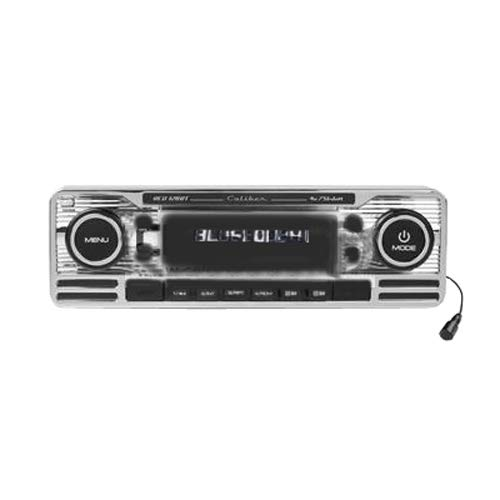Caliber Rcd120Bt Retro Look Radio Met Bluetooth Chroom