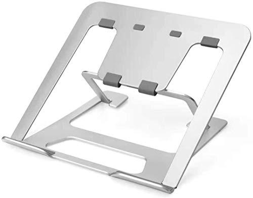 Soporte de dibujo gráfico para tableta de dibujo, de aluminio, ventilado, ajustable, para Wacom One, Cintiq 13/16, XP-Pen Artist 12/13.3/15.6 y Huion Kamvas 12/13.3/15.6 (plateado)