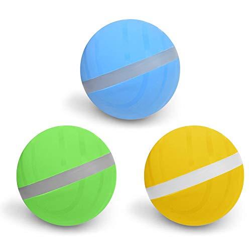 Forwei Wicked Ball Pet Spielzeug Jumping Ball USB Elektro LED Rolling Flash Ball Spaß Automatische Hundespielzeug Interaktive Rollerball, Katzen und Hunde Spielzeug Wicked Balls