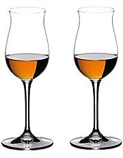 Riedel Vinum Hennessy Copa de Cognac, Cristal, Multicolor, 18.5x9.2x23.7 cm, 2 Unidades