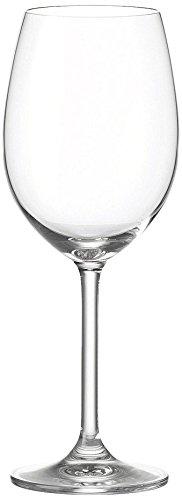 Leonardo Daily Gläser, 6er-Set Weingläser, 0,3 l 16 oz farblos