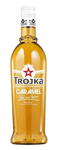 Trojka Caramel, Vodka-Likör mit Karamell-Geschmack, Made in Switzerland, 24% vol., (1 x 0.7 l)