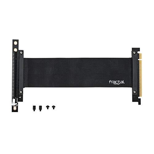 Fractal Design Flex VRC-25 PCI-E Riser für Define R6 - Define S2 - Define S2 Vision - Meshify S2 - PC-Gehäuse - hochflexibel - Null-Latenzleistung - volle PCIe 3.0 Unterstützung - Zubehör
